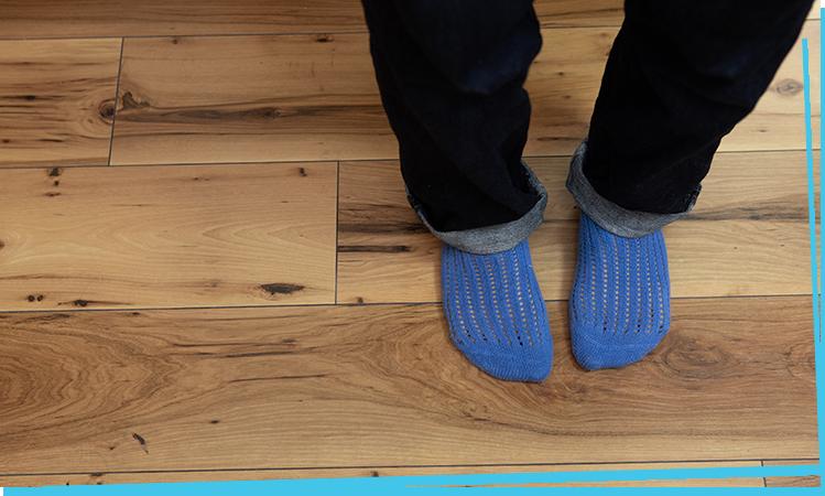 雰囲気のある床の感じが 好きです。
